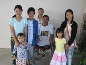 Eh Htoo's Parents and Siblings