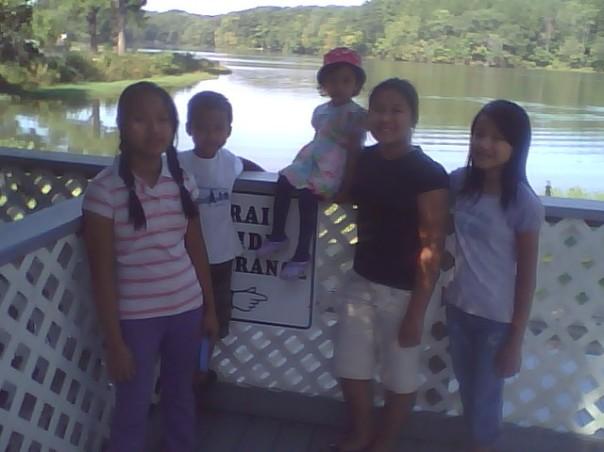 Bi Bi, Joshua, Deborah, Frosintina & Christina