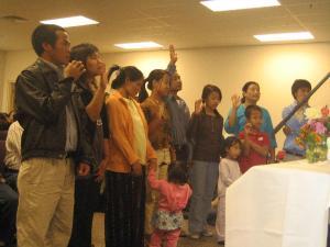 Thang Tlang, Frosintina, Hlamay, Esther Man, Bi Bi, Peng Len, Christina, Deborah, Joshua, Nu Nu and Biak