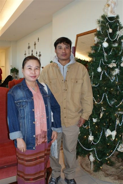 Paw Kee and Aung Mo