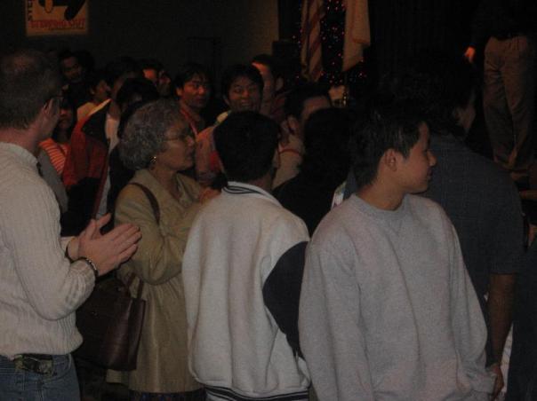 Lao/Burmese Congregation Receiving Equipment