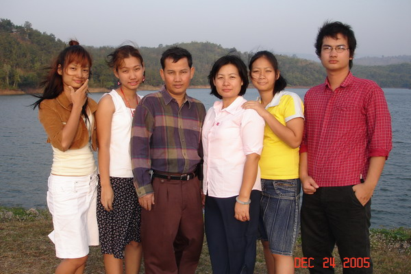 Burmese Preach, Joseph Shwe and Family