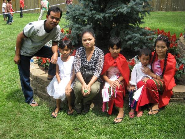 Saw Ler Phaw, father; Lah May, wife. Children: Soe Meh, Saw Reh, Sher Mei