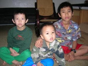 Sa Nay Maung Maung, William and Naing Soe