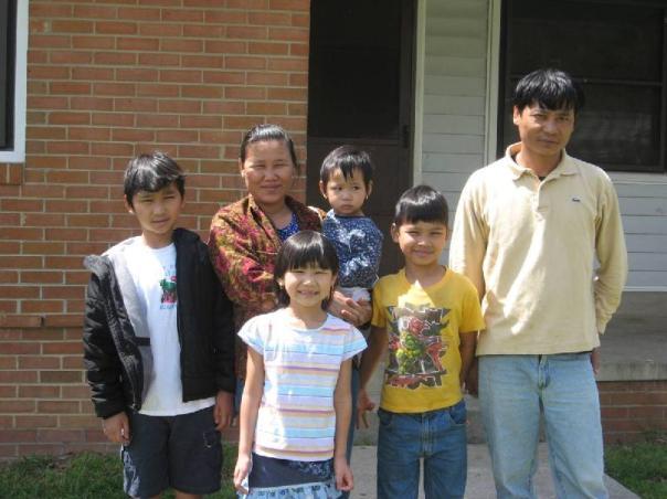 Kyeh Leh & Ku Ku (parents); Eh Ta Mala Tha, Maung Shwe Lin, Paw Eh Ku Moo & Paw Ku Moo
