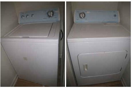 Donate your old laundry set.
